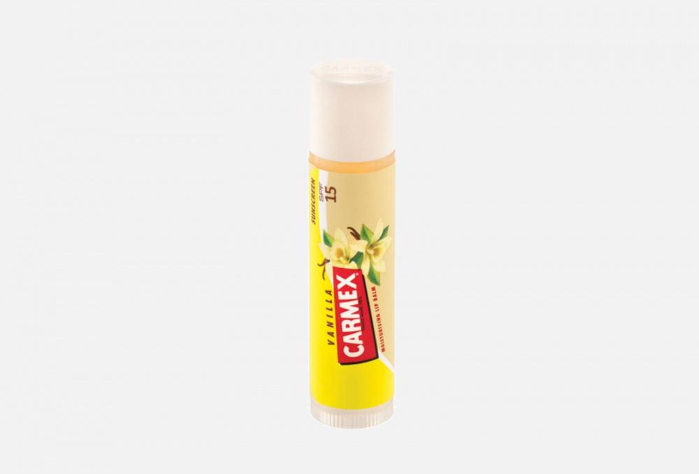 Бальзам для губ CARMEX Vanilla 4.25 мл carmex protecting original бальзам для губ 4 25 гр