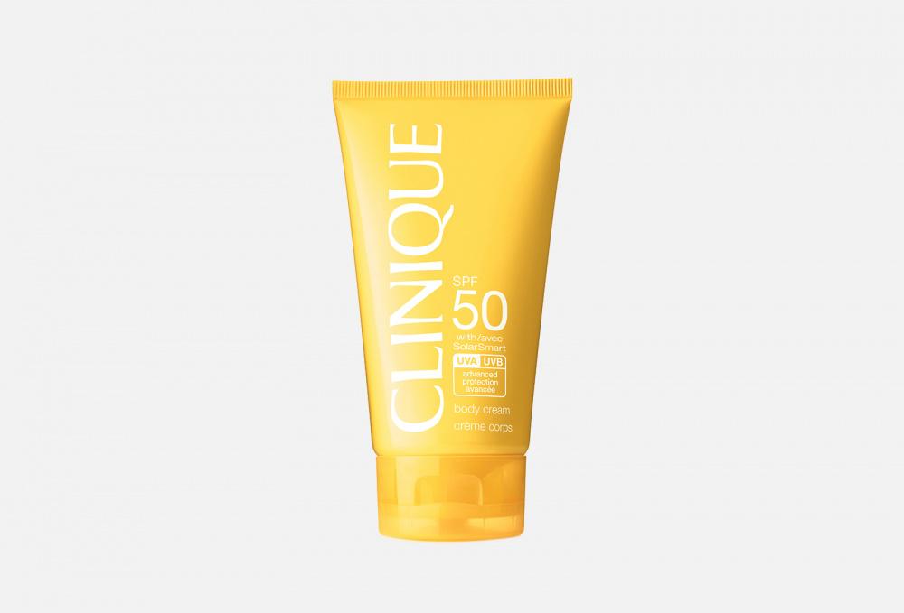 солнцезащитный крем для тела spf 50 clinique body cream 150 мл Солнцезащитный крем для тела SPF 50 CLINIQUE Body Cream 150 мл