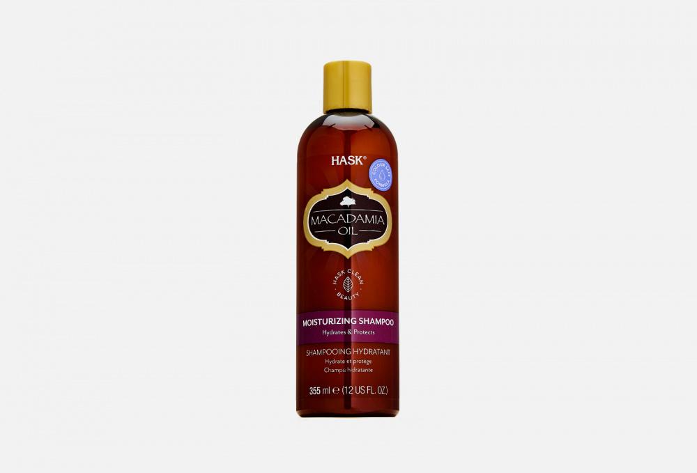 Увлажняющий шампунь с маслом Макадамии HASK Macadamia Oil 355 мл