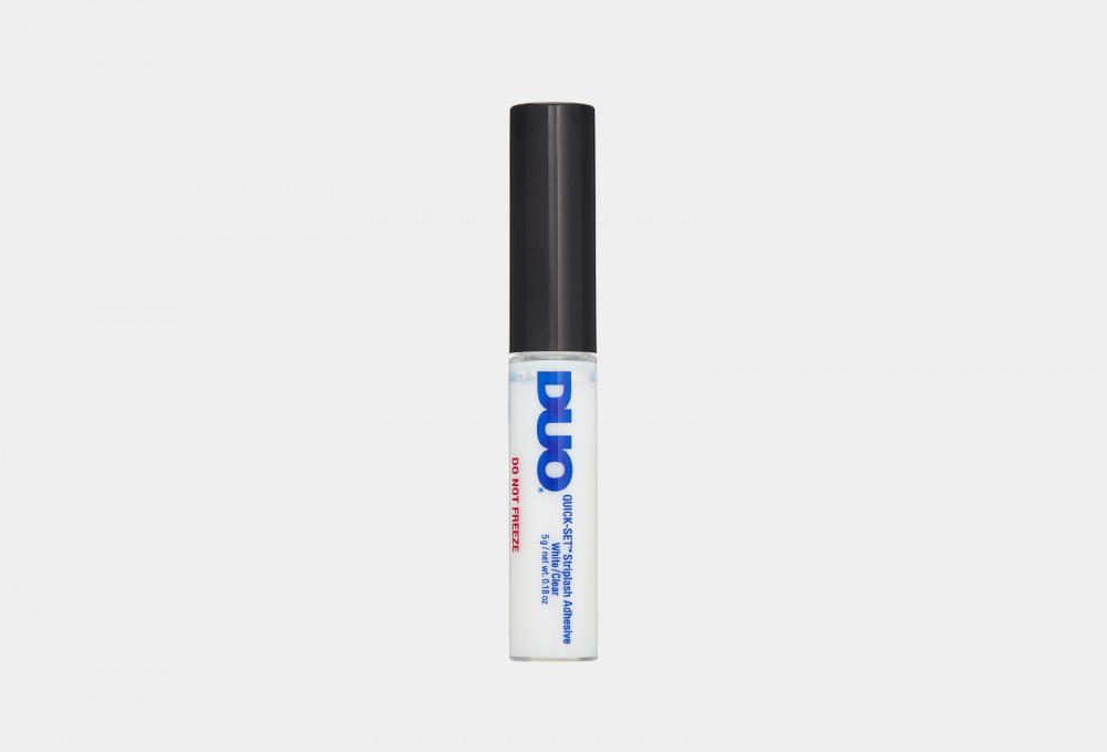 Клей для накладных ресниц, быстрая фиксация DUO Quick-set Striplash Adhesive Clear 5 мл клей для накладных ресниц duo clear lash adhesive 7 мл