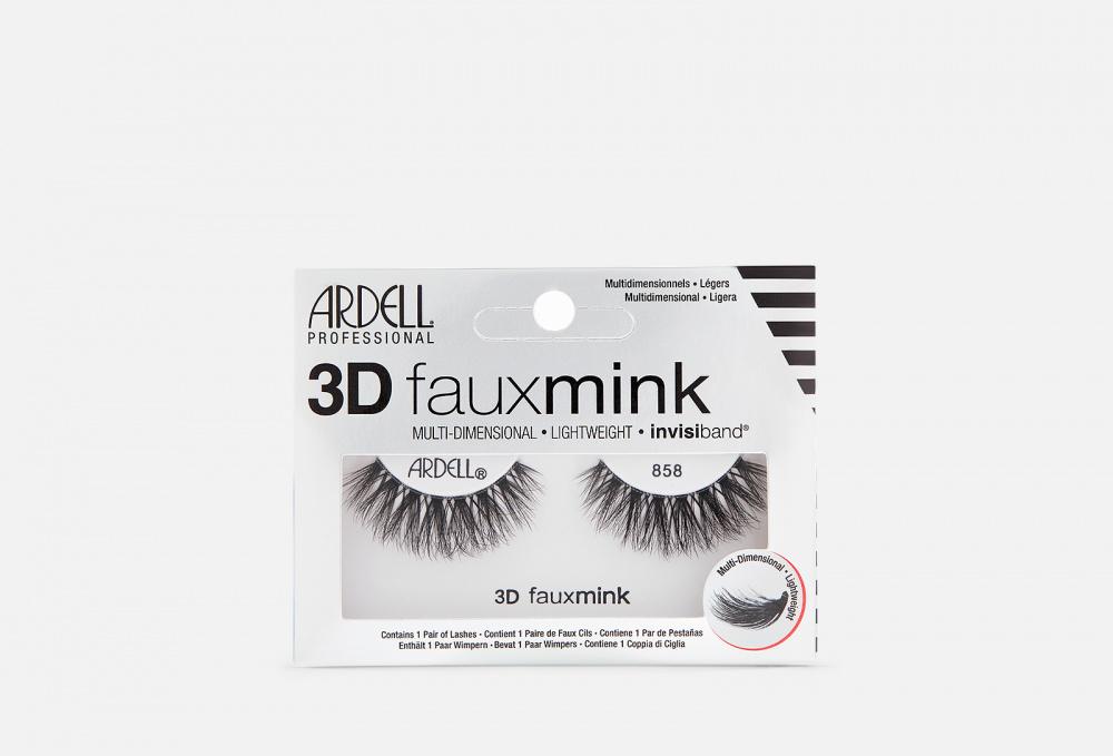 Накладные ресницы ARDELL 3d Faux Mink 858 1 мл