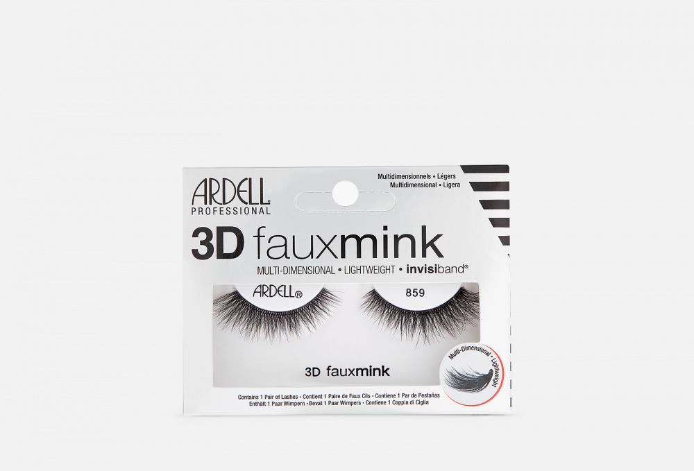 Накладные ресницы ARDELL 3d Faux Mink 859 1 мл