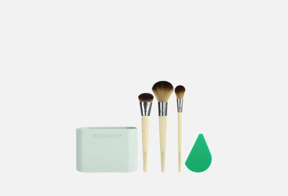 Набор кистей для макияжа ECOTOOLS Airbrush Complexion