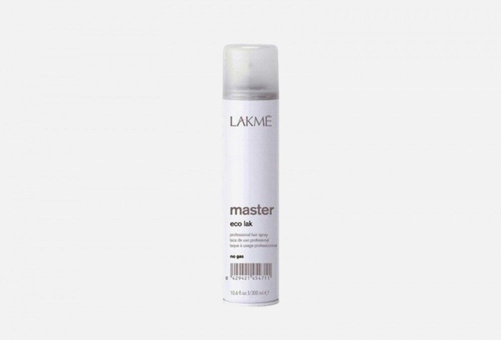 Фото - Лак для волос без газа LAKME Master Eco Lak No Gas 300 мл lakme master perm selecting system 1 waving lotion лосьон для нормальных волос 500 мл lakme master