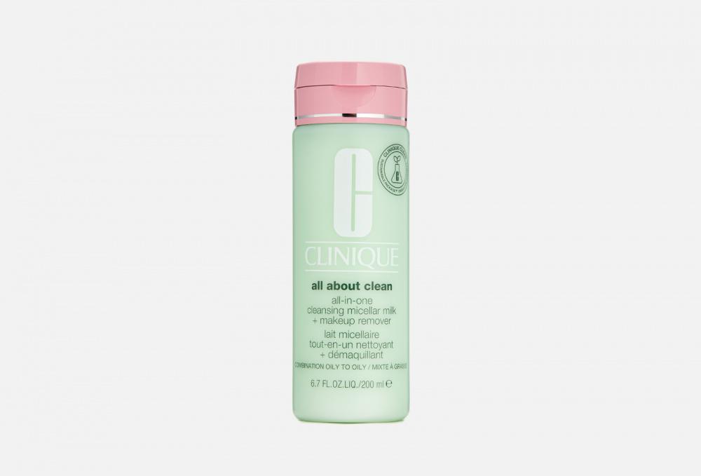 Молочко для снятия стойкого макияжа CLINIQUE All-in-one Cleansing Micellar Milk + Mur St 3 & 4 200 мл