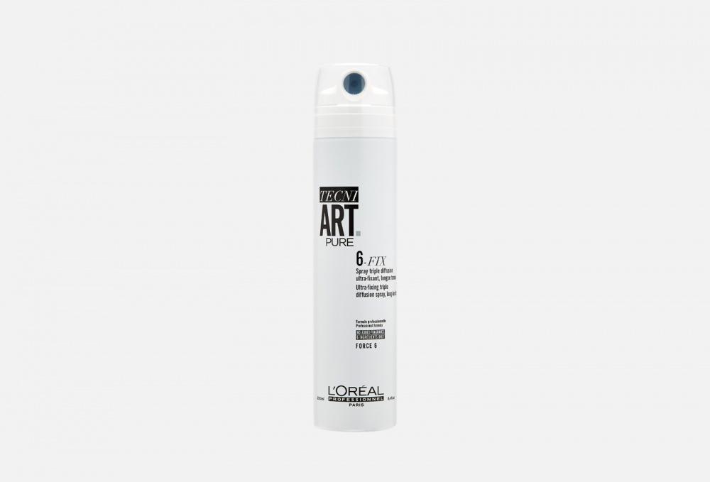 Спрей для фиксации волос LOREAL PROFESSIONNEL T 6-fix Pure 250 мл