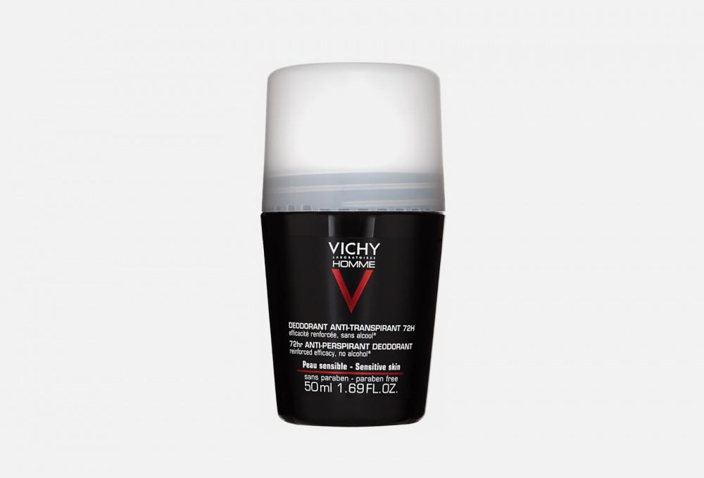 Дезодорант против избыточного потоотделения VICHY 72h Homme 50 мл виши homme дезодорант антиперспирант против избыточного потоотделения 72 часа 50 мл