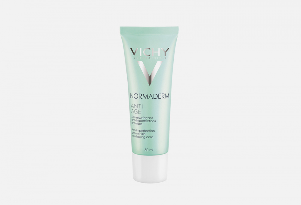 Крем-гель для проблемной кожи с первыми признаками старения VICHY Normaderm Anti Age 50 мл тональный крем vichy normaderm teint цена