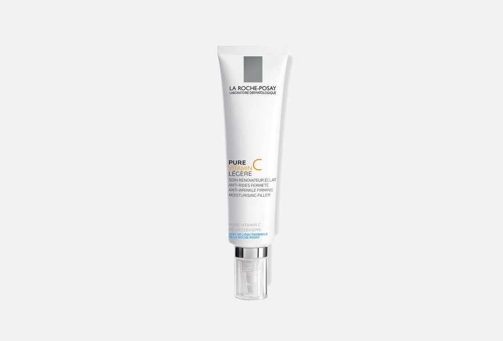 Крем-филлер для заполнения морщин для нормальной и комбинированной кожи LA ROCHE-POSAY Pure Vitamin C Light 40 мл la roche posay vitamin c10