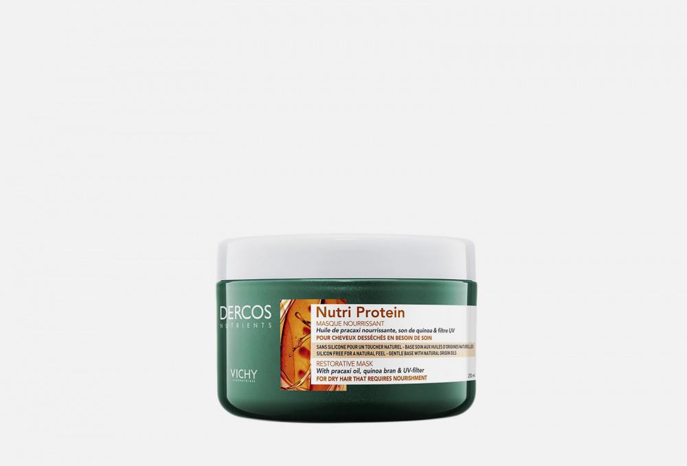 Восстанавливающая маска для секущихся и поврежденных волос VICHY Dercos Nutrients Nutri Protein 250 мл