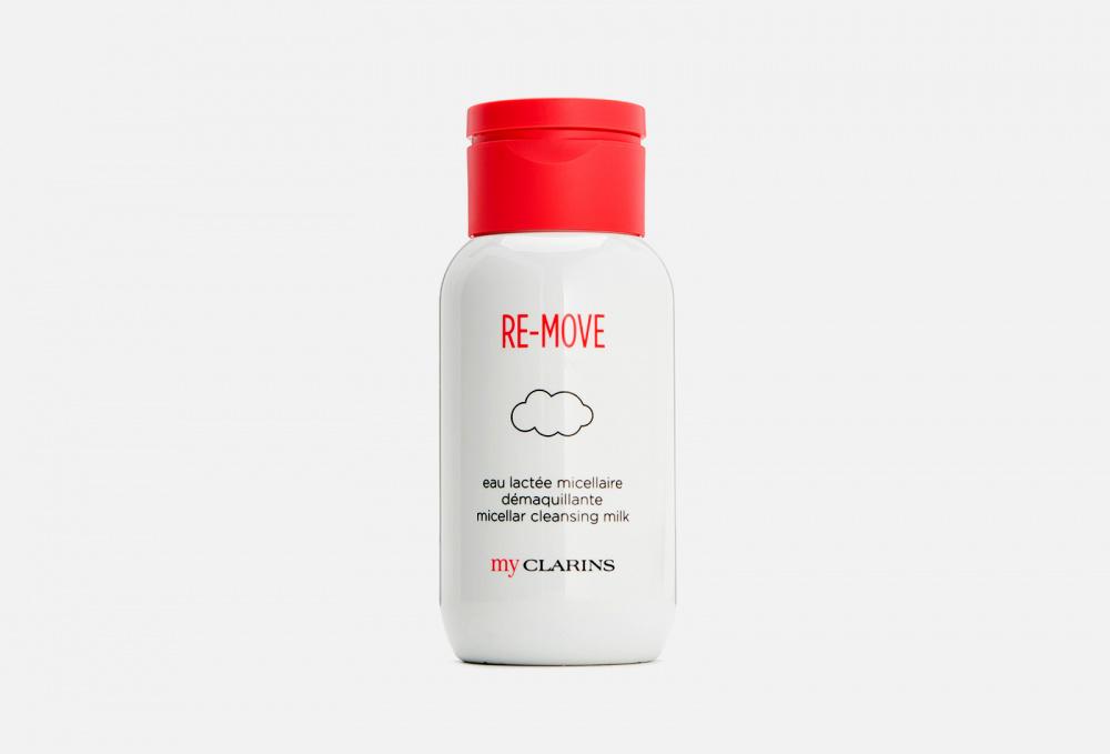 Очищающее мицеллярное молочко для молодой кожи CLARINS My Clarins 200 мл питательный крем для молодой кожи clarins my clarins 50 мл