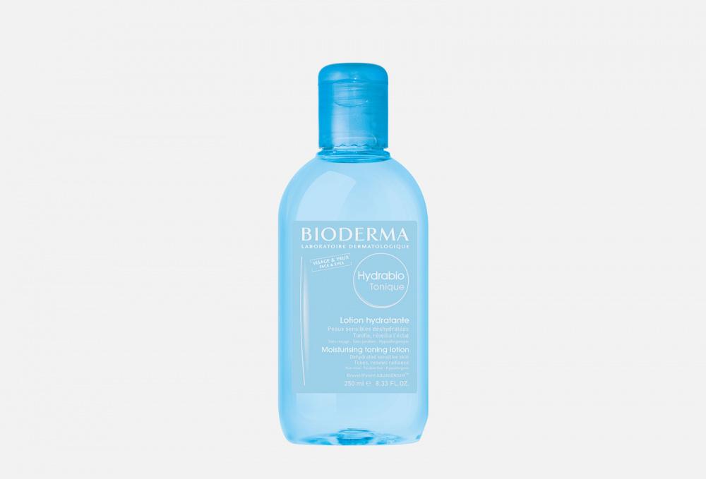 Фото - Тонизирующий увлажняющий лосьон BIODERMA Hydrabio Moisturising Toning Lotion 250 мл увлажняющий крем для лица bioderma hydrabio rich moisturising care 50 мл