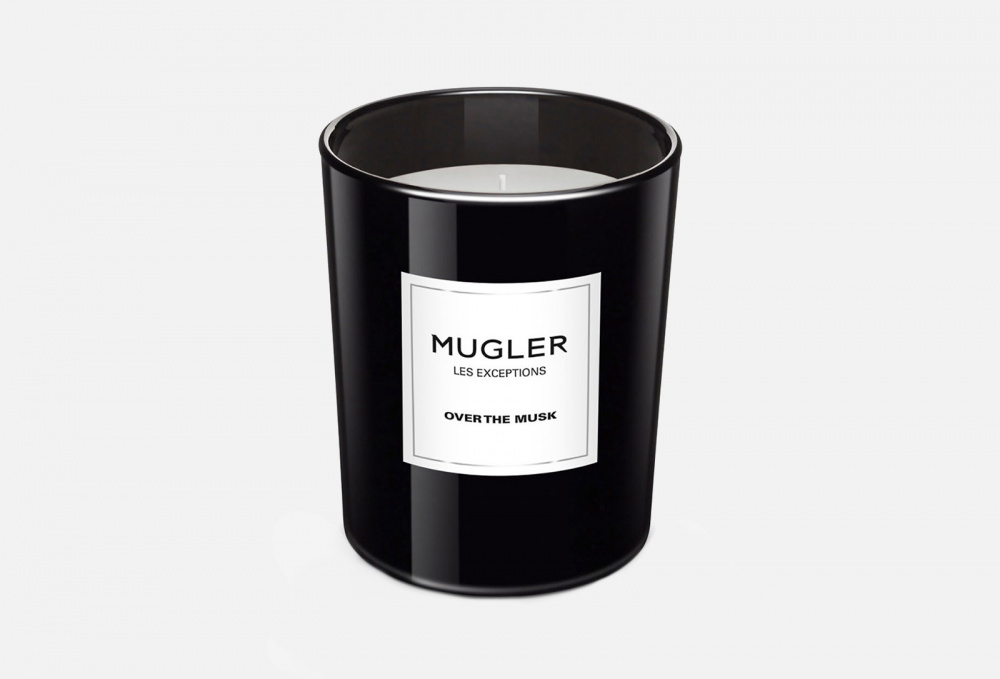 Свеча MUGLER Les Exceptions Over The Musk 180 мл