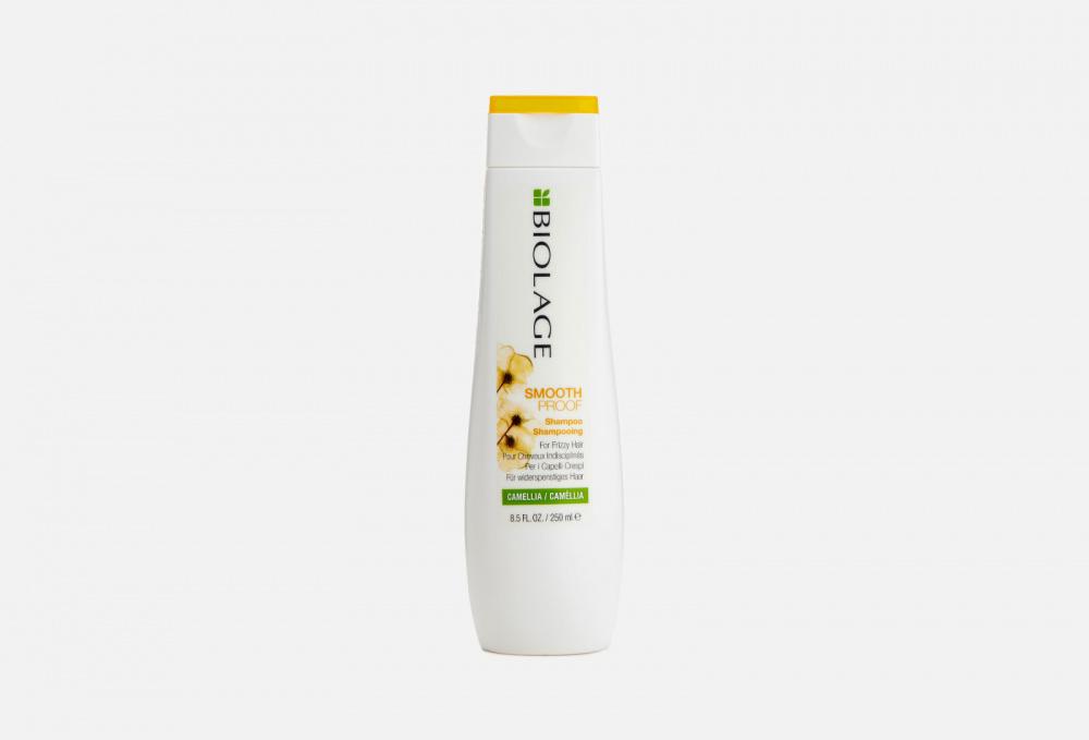 Фото - Шампунь для непослушных вьющихся волос BIOLAGE Shampoo Smoothproof 250 мл несмываемая сыворотка для гладкости волос с термозащитой biolage smoothproof serum 89мл