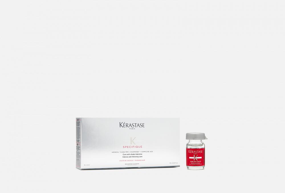 Фото - Курс для борьбы с выпадением волос 10 х 6 мл. KERASTASE Aminexil Force R kerastase активатор capital force для уплотнения волос 125 мл