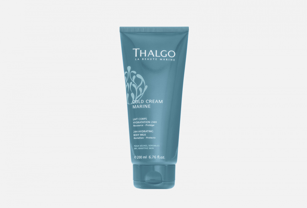 Увлажняющий лосьон для тела 24ч THALGO Cold Cream Marine 200 мл thalgo скраб для тела revitalising marine scrub 200 мл