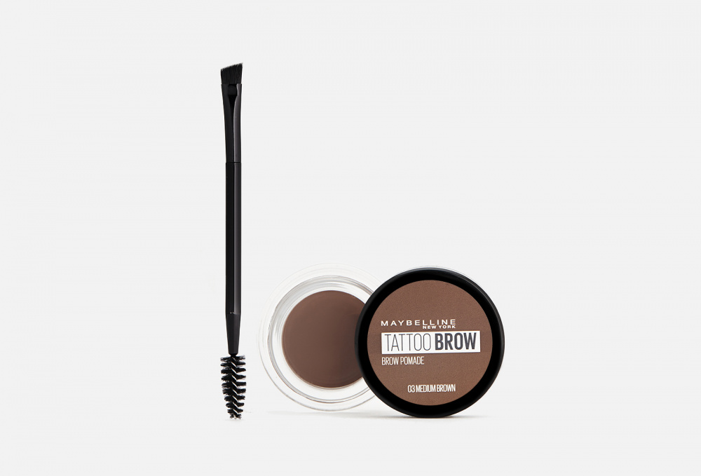 Стойкая помада для бровей MAYBELLINE NEW YORK Brow Pomade 3.5 мл