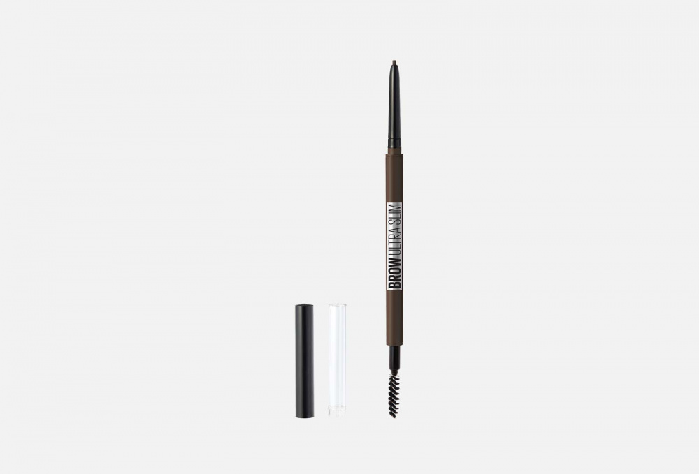 Карандаш для бровей MAYBELLINE NEW YORK Brow Ultra Slim 1 мл maybelline new york карандаш brow precise micro pencil оттенок 1 темный блонд