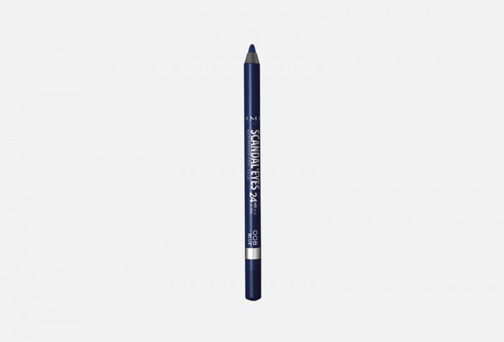 Фото - Карандаш для глаз водостойкий RIMMEL Scandaleyes 1.3 мл карандаш для глаз scandaleyes waterproof kohl kajal 1 2г no 009