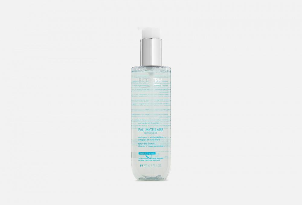 Мицеллярная вода для снятия макияжа c лица и глаз BIOTHERM Biosource 200 мл