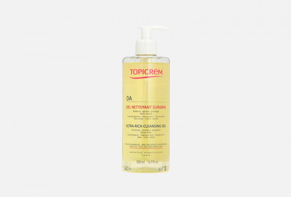 Фото - Очищающий гель для атопичной кожи TOPICREM Ad Ultra-rich Cleansing Gel 500 мл topicrem мягкий очищающий гель для тела и волос 500 мл