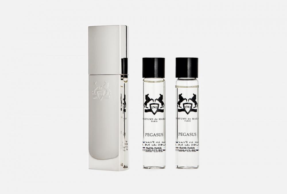 Дорожный набор 3*10мл + тревел кейс PARFUMS DE MARLY Pegasus parfums de marly pegasus парфюмерная вода 3 10мл запаска
