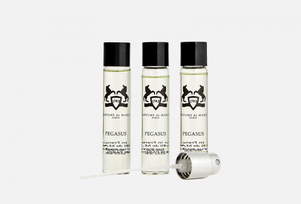 Дорожный набор 3*10мл PARFUMS DE MARLY Pegasus parfums de marly pegasus парфюмерная вода 3 10мл запаска