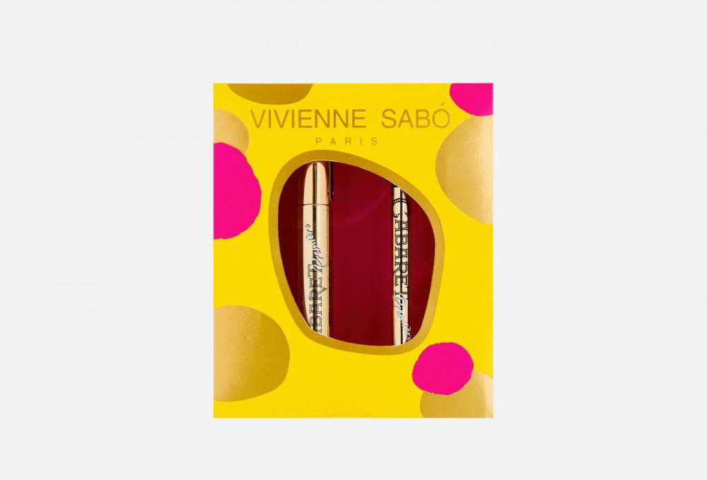 Подарочный набор: Тушь для ресниц + Подводка-фломастер VIVIENNE SABO Cabaret Premiere