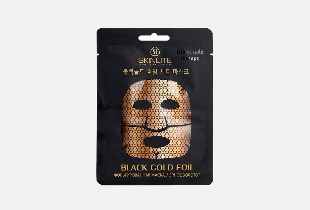 Фольгированная маска SKINLITE Black Gold Foil 27 мл