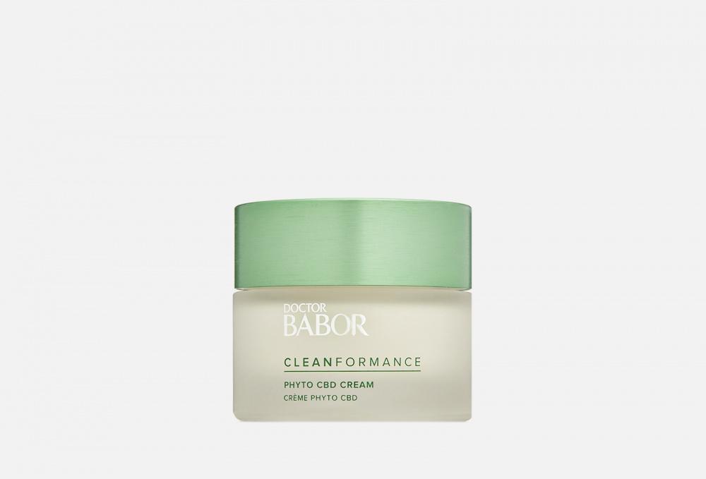 Успокаивающий Релакс-Крем для лица BABOR Phyto Cbd Cream 50 мл недорого