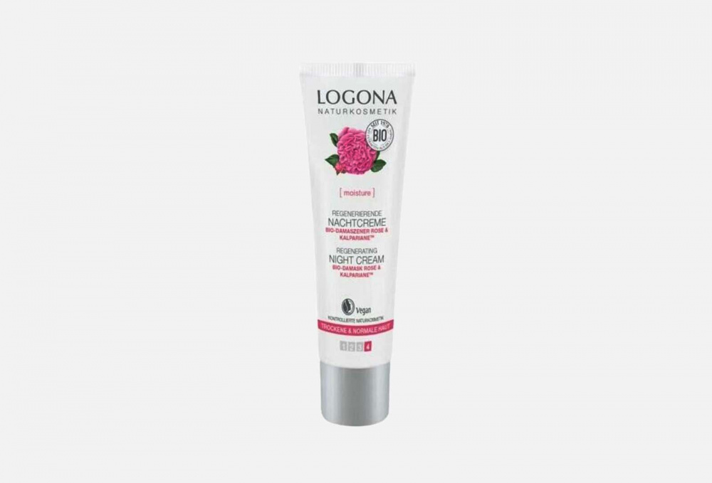 Ночной крем для увлажнения и регенерации кожи с Био-Дамасской Розой фото