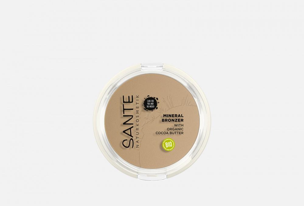 Бронзер SANTE Mineral Bronzer 9 мл минеральный бронзер для лица illumineral bronzer powder 4г 04 berry with gold