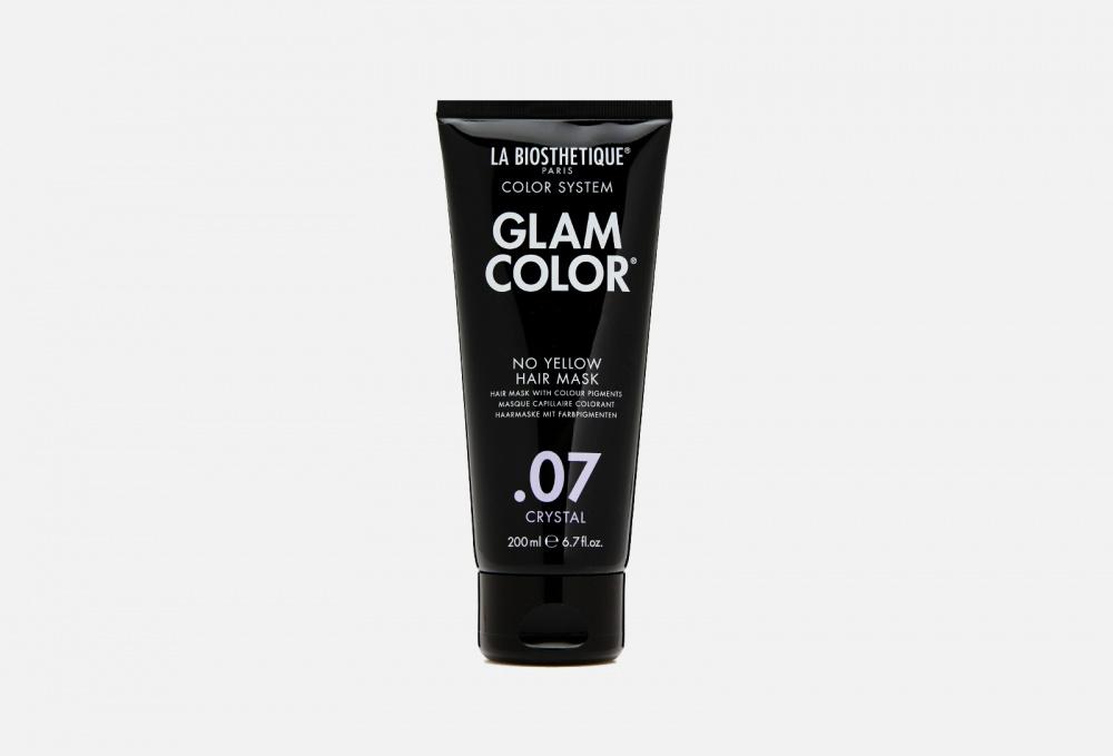Тонирующая маска для волос LA BIOSTHETIQUE Glam Color No Yellow Hair Mask .07 Crystal 200 мл