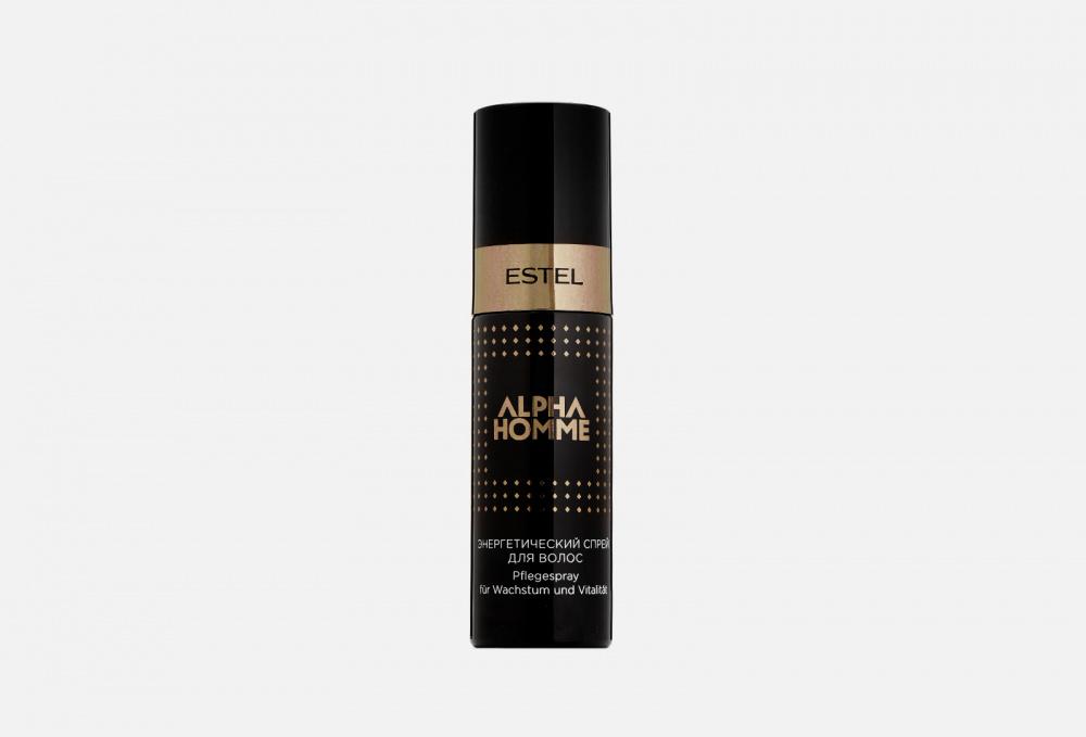 Спрей для волос энергетический ESTEL PROFESSIONAL Alpha Homme Spray 100 мл ducray неоптид лосьон от выпадения волос для мужчин 100 мл