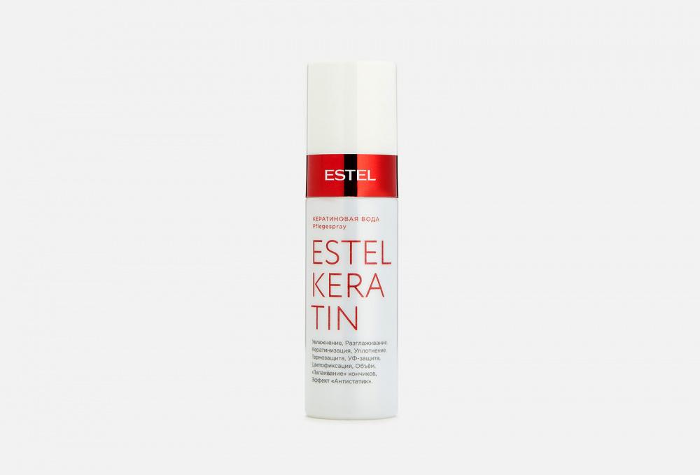 Вода для волос ESTEL PROFESSIONAL Keratin 100 мл ducray неоптид лосьон от выпадения волос для мужчин 100 мл