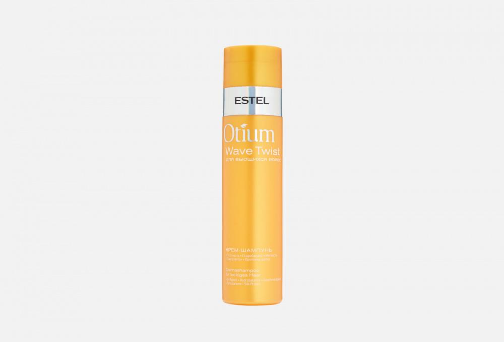 Крем-шампунь для вьющихся волос
