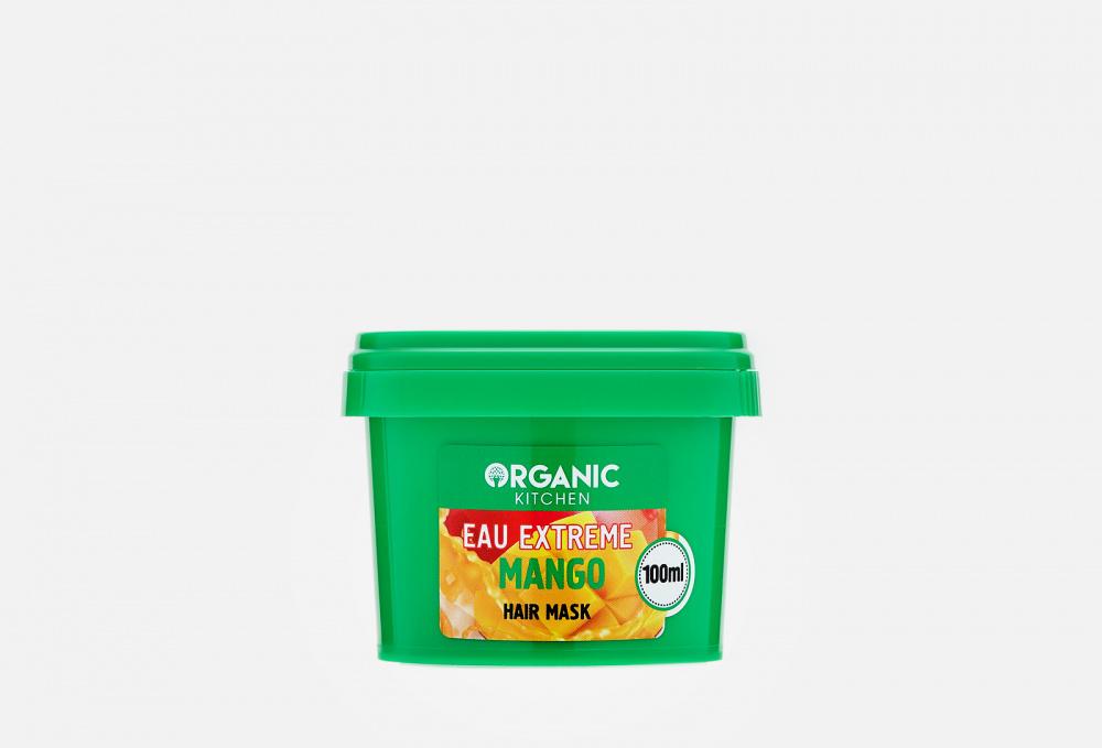 Фото - Маска для волос Вкусное питание от бьюти блогера @nikkoko8 ORGANIC KITCHEN Eau Extreme Mango 100 мл organic kitchen бальзам для волос bloggers goodbye пучок от блогера marta che 100 мл