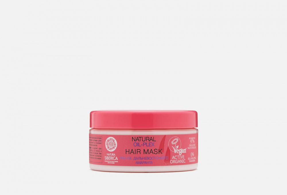Маска для окрашенных и поврежденных волос NATURA SIBERICA Oil-plex 300 мл маска для окрашенных и поврежденных волос natural oil plex hair mask 300мл