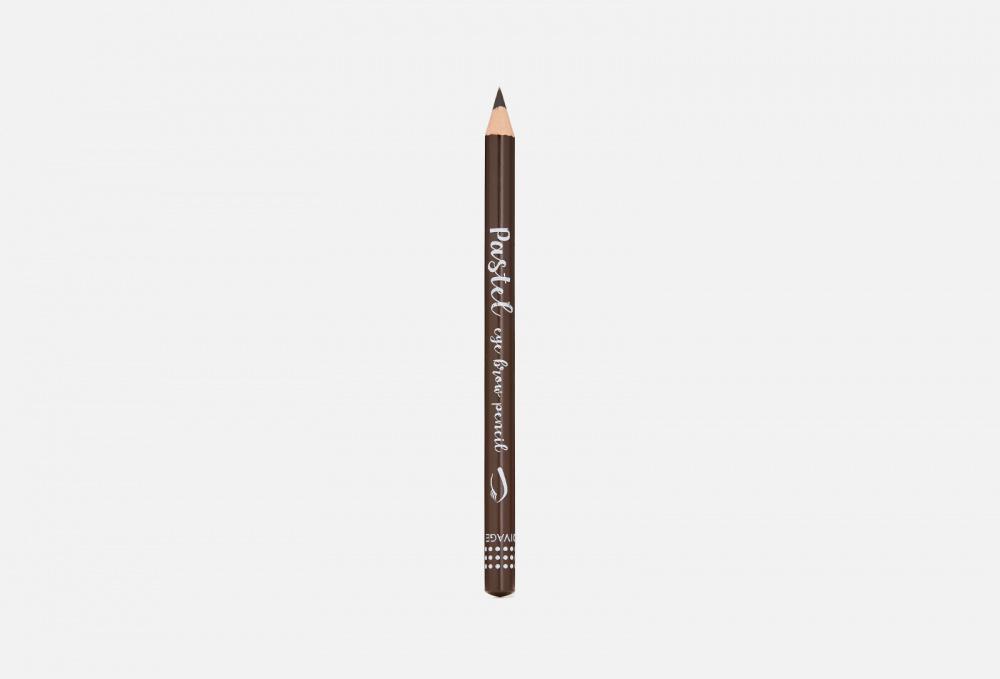 Карандаш для бровей с щеткой DIVAGE Pastel 4 мл карандаш для губ pastel divage 2203