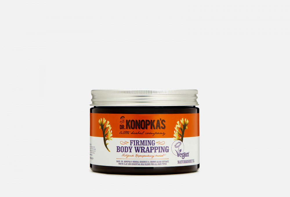 Обертывание (маска) для тела моделирующее DR KONOPKAS Body Wrap (mask) For Body Modeling 500 мл