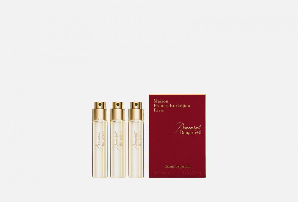 ПАРФЮМЕРНЫЙ ЭКСТРАКТ (рефил) MAISON FRANCIS KURKDJIAN Baccarat Rouge 540 Extrait De Parfum 11 мл maison francis kurkdjian baccarat rouge 540 отливант парфюмированная вода 18 мл
