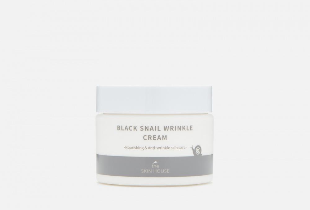 Питательный крем с коллагеном и муцином черной улитки THE SKIN HOUSE Black Snail Wrinkle 50 мл недорого
