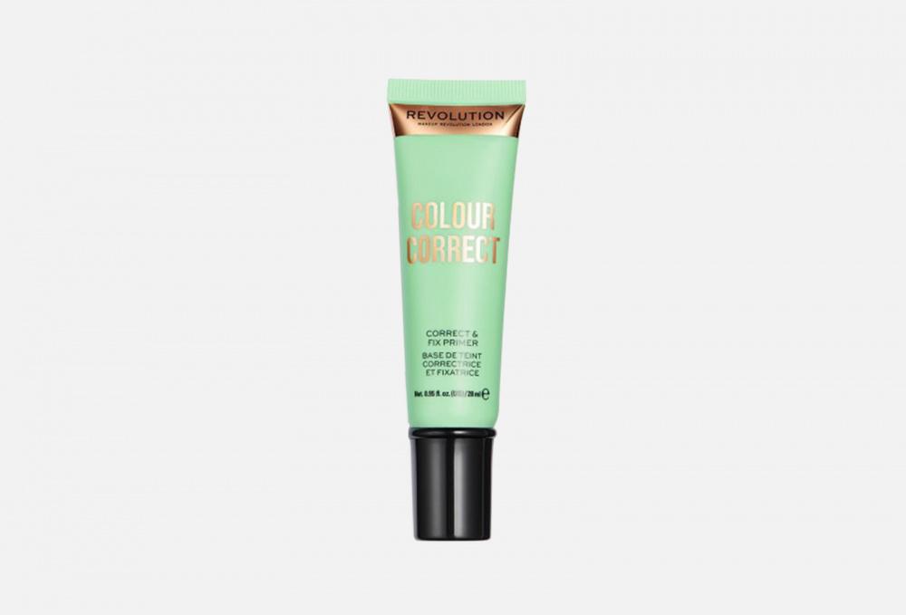 Праймер для лица MAKEUP REVOLUTION Colour Correct Correct & Fix Primer 28 мл набор спонжей для макияжа makeup revolution mini pro colour correct sponge set