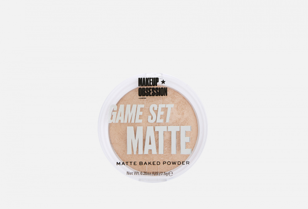 Пудра компактная MAKEUP OBSESSION Game Set Matte 7.5 мл