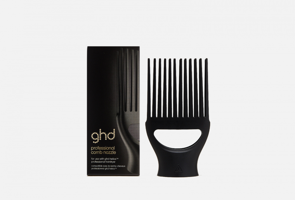 Фото - Насадка-расческа на фен helios GHD Professional Comb Nozzle 1 мл фен для волос bambino bab5510e 1200w 1 насадка 1 диффузор