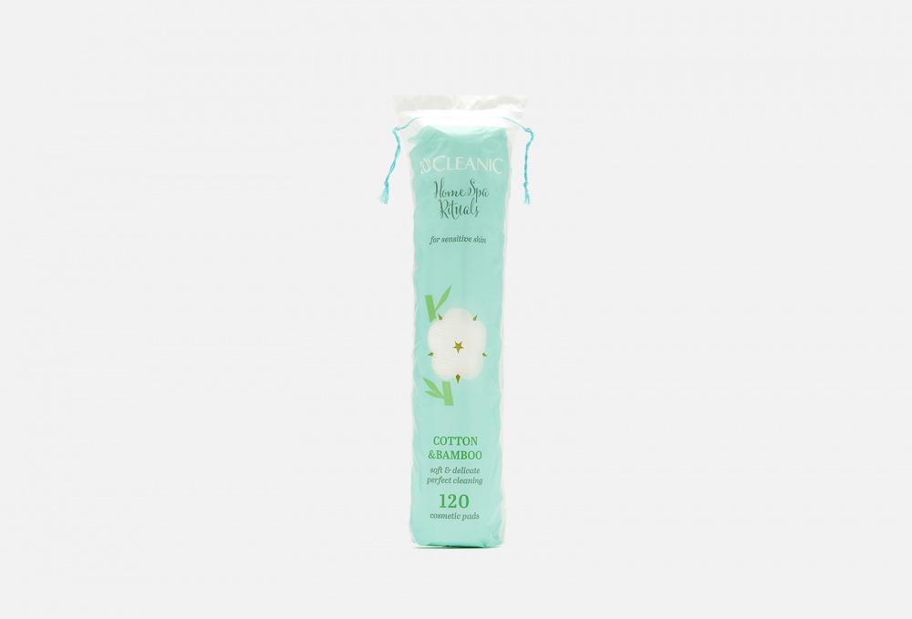 Диски ватные косметические CLEANIC Home Spa Rituals Cotton & Bamboo 120 мл