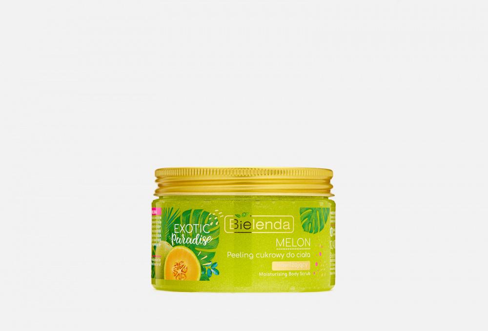 Фото - Сахарный, увлажняющий Скраб для тела BIELENDA Дыня 350 мл косметика для мамы bielenda exotic paradise сахарный скраб для тела увлажняющий дыня 350 г
