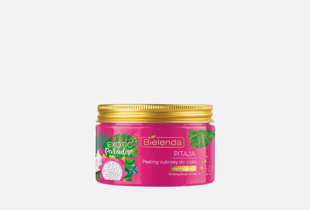 Фото - Сахарный, укрепляющий Скраб для тела BIELENDA Питайя 350 мл косметика для мамы bielenda exotic paradise сахарный скраб для тела увлажняющий дыня 350 г