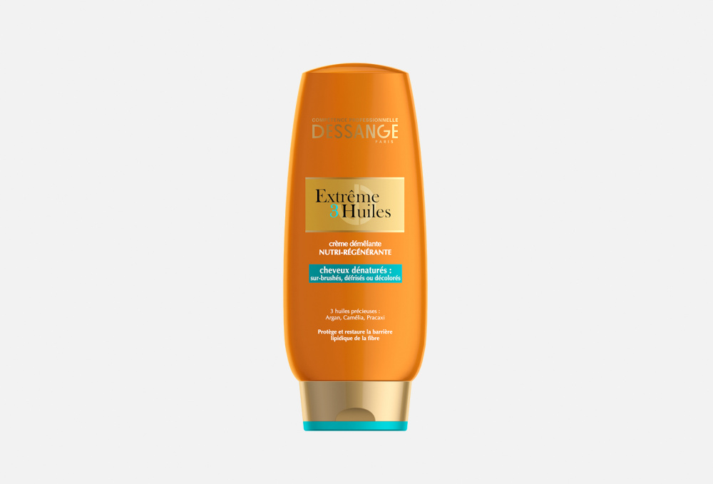 Крем для сильно поврежденных волос DESSANGE extreme, 3 Масла, Экстремальное Восстановление 200 мл