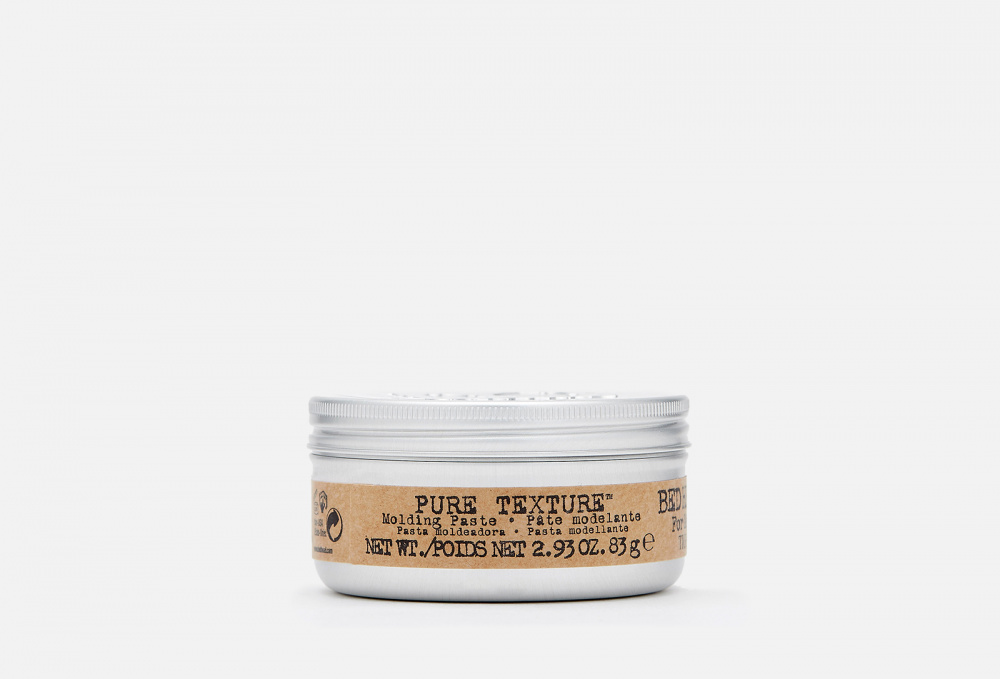 Моделирующая паста для волос мужская TIGI BED HEAD Pure Texture 83 мл ducray неоптид лосьон от выпадения волос для мужчин 100 мл